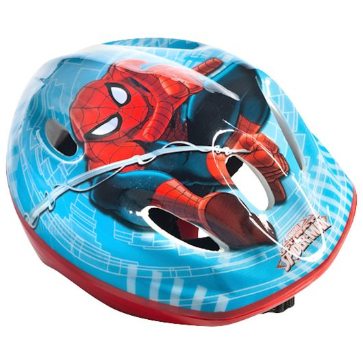 Cykelhjelm med Spiderman-motiv