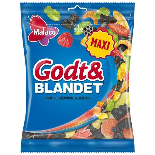 Malaco Godt & Blandet - 375 g