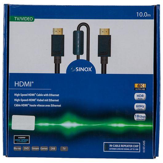 Sinox - Pro HDMI kabel 4K60Hz - 10 meter