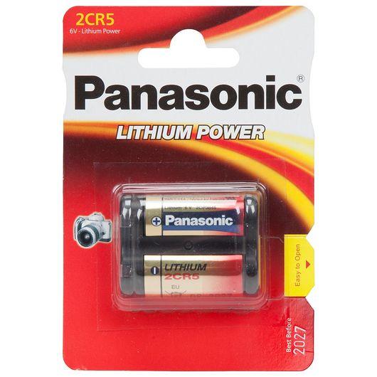 Panasonic lithium 2CR5