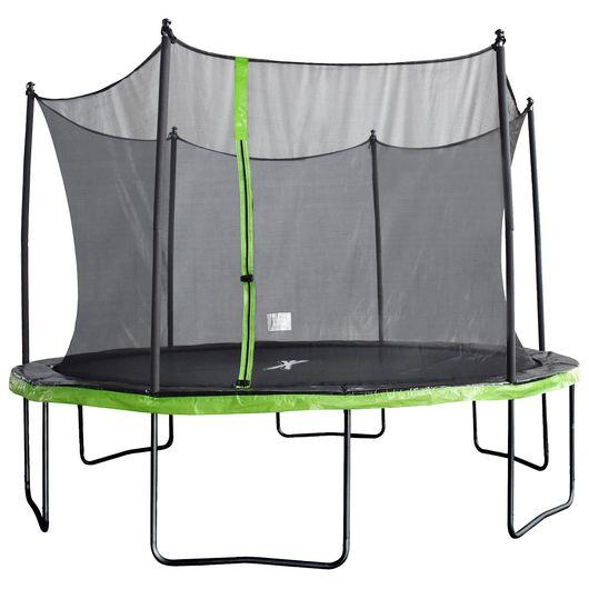 JumpXfun VIGGA trampolin - Ø. 396 cm