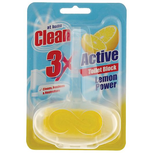 At Home Clean toiletblok 40 g - Lemon