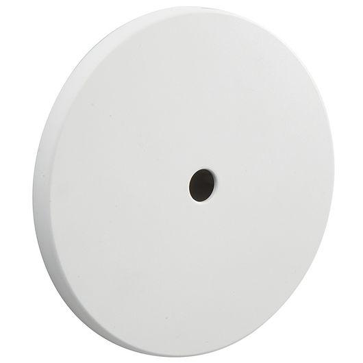 Dæksel lampeudtag Ø. 80 mm hvid