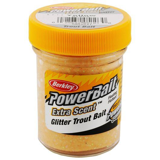 BERKLEY PowerBait - Yellow Glitter