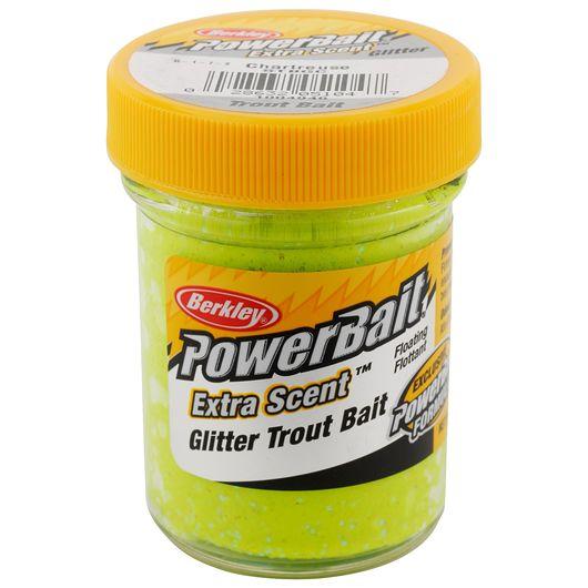 BERKLEY PowerBait - Chartreuse Glitter