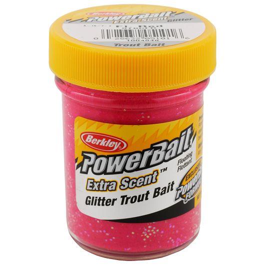 BERKLEY PowerBait - Fluorescent Red Glitter