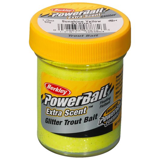 BERKLEY PowerBait - Sunshine Yellow Glitter