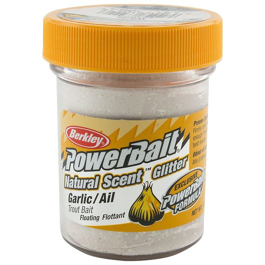 BERKLEY PoweBait Garlic - White