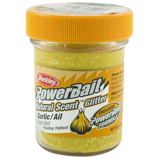BERKLEY PowerBait Garlic - Sunshine Yellow