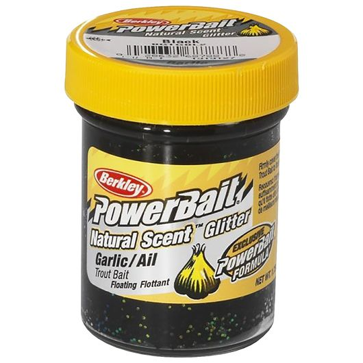 BERKLEY PowerBait Garlic - Black