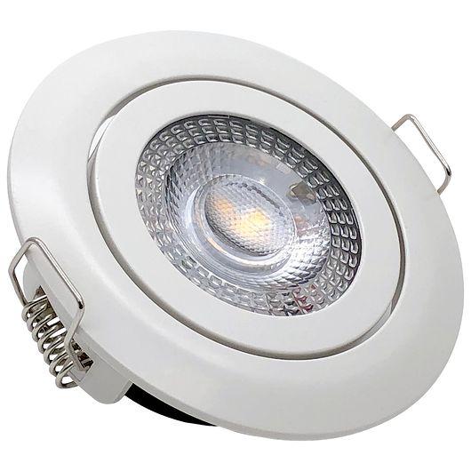 Indbygningsspot LED 5W IP20 - dæmpbar i 3 trin