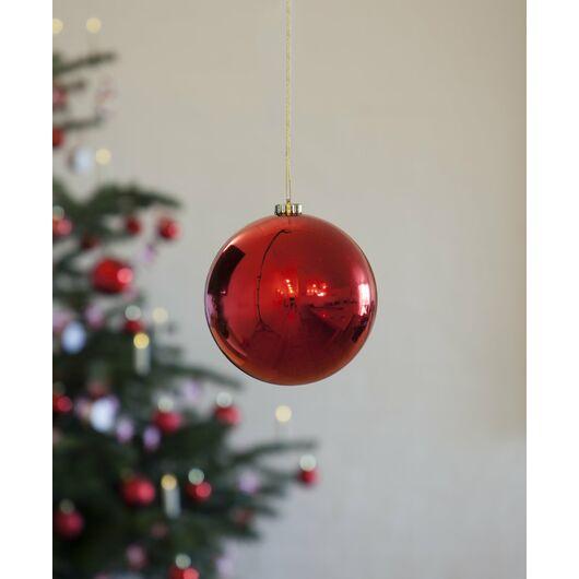 Nowel - Julekugle rød Ø. 15 cm