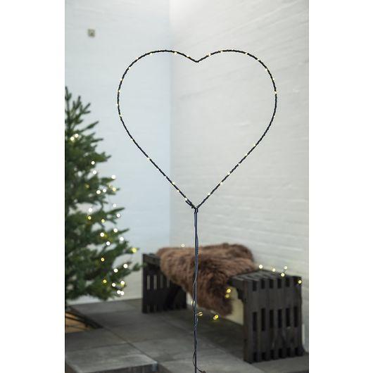 Nowel - Havespyd hjerte H. 93 cm