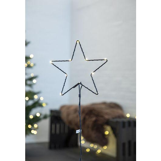 Nowel - Havespyd stjerne H. 49 cm