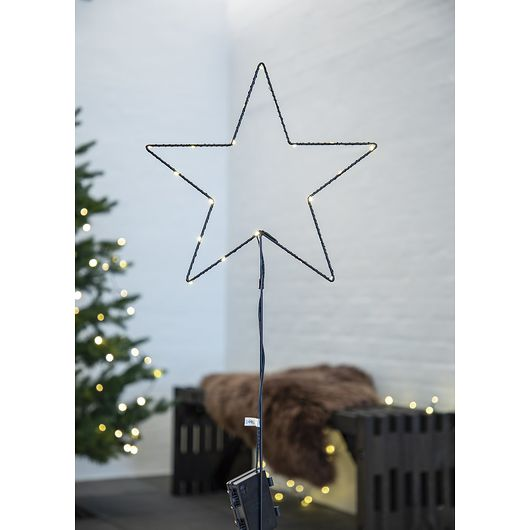 Nowel - Havespyd stjerne H. 68 cm