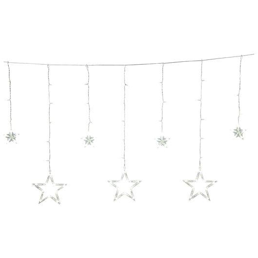 Nowel - Istappelyskæde med stjerner 115 LED