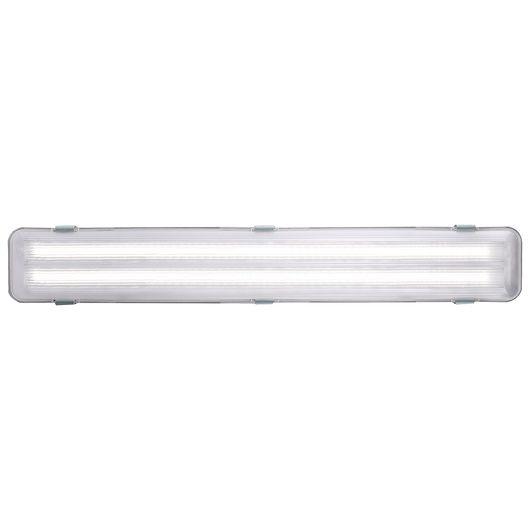 Vådrumsarmatur LED med 2 x 9W G13-rør