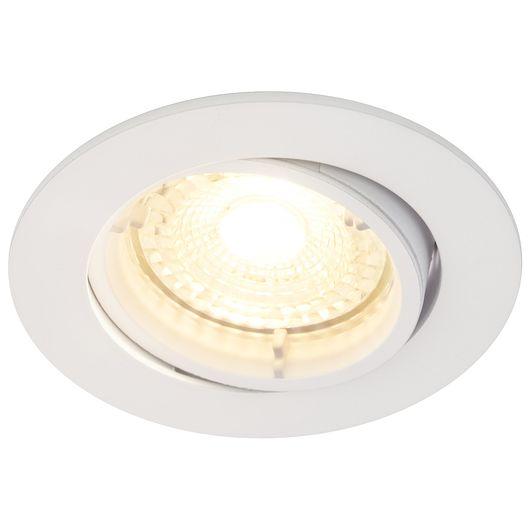 Sartano - Indbygningsspot LED 5 W IP20 - kipbar
