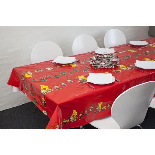 Julevoksdug 140 x 240 cm rød