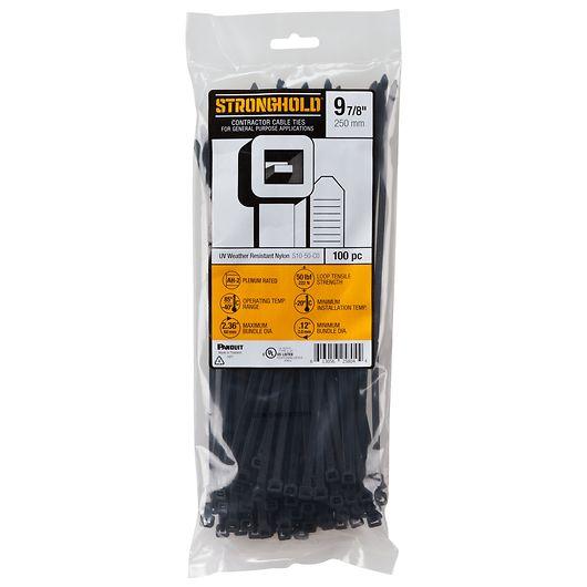 Panduit StrongHold - Kabelbinder 4,8x250mm 100-pak