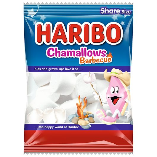 Haribo Chamallows Barbecue - 120 g