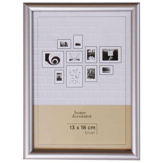 Billedramme sølv - 13 x 18 cm