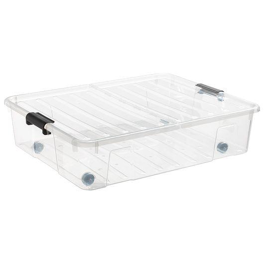 Plast Team - Bedroller HomeBox og splitlåg 49liter