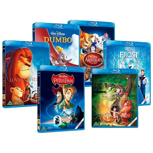 Disney klassikere Blu-Ray film