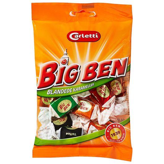 Carletti - Big Ben karameller - 110 g
