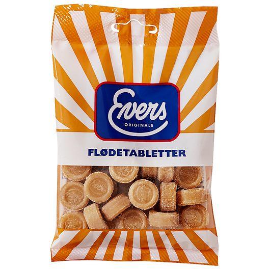 Evers Flødetabletter - 110 g