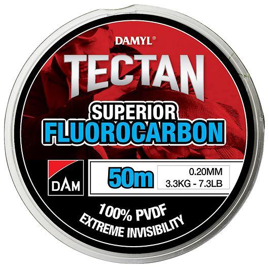 DAM Fluorocarbon fiskeline 0,20 mm - 50 m