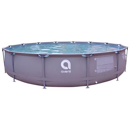 Avenli - Pool rund 12.400 liter