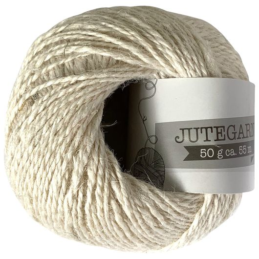 Jutegarn 50 g - off white