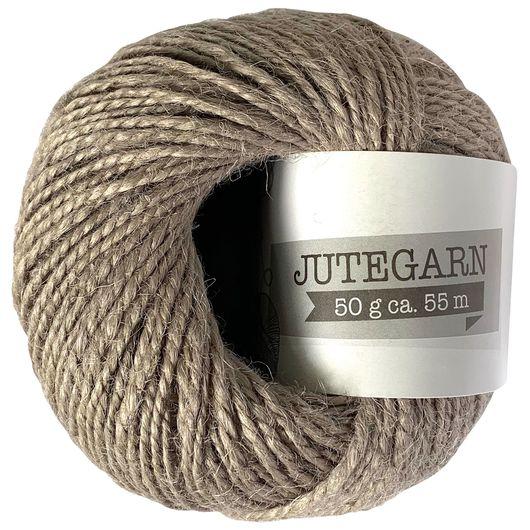 Jutegarn 50 g - grå