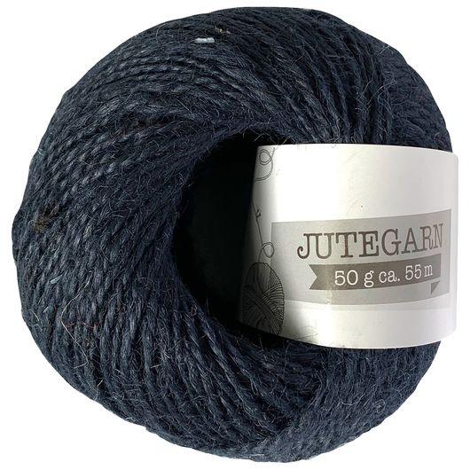 Jutegarn 50 g - mørkeblå