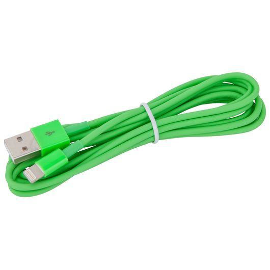 Sinox Lightningkabel grøn - 2 meter
