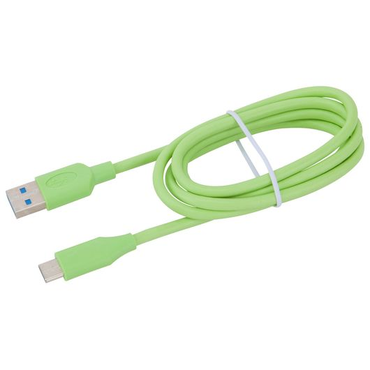 Sinox - USB-C kabel grøn - 1 meter