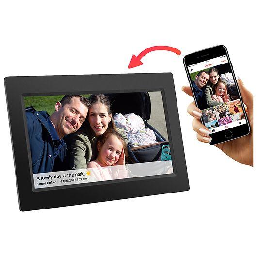 "Frameo digital fotoramme WiFi 7"" - sort"