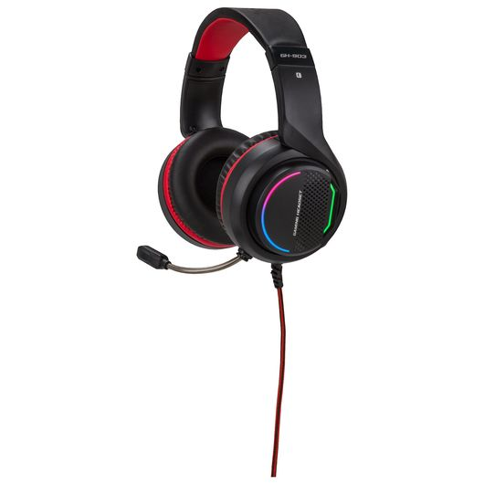 Gaming headset RGB + 7.1 lyd
