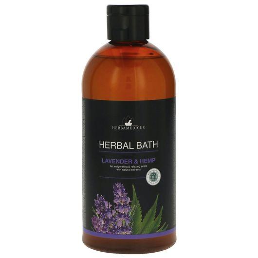 Urtebad 500 ml - Lavendel og hamp