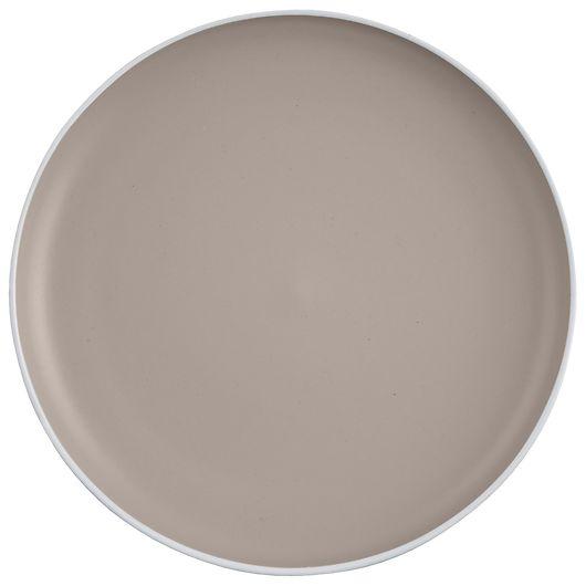 Tallerken - Stentøj Ø. 20 cm - grå