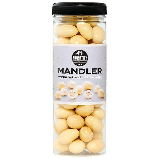 NORDTHY - Mandler med hvid chokolade - 325 g