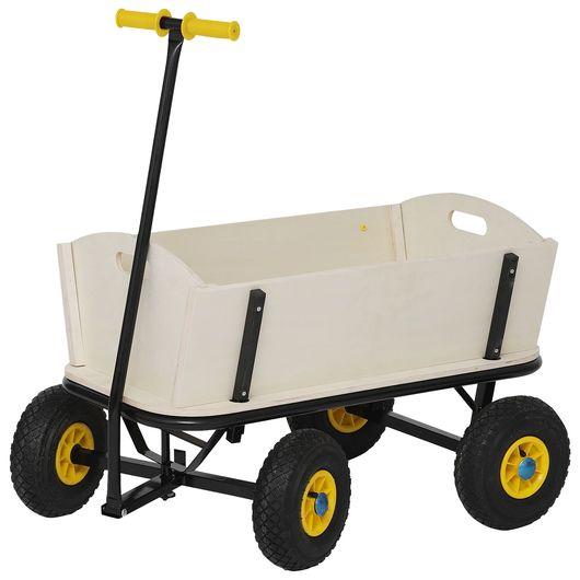 Trækvogn med trækasse