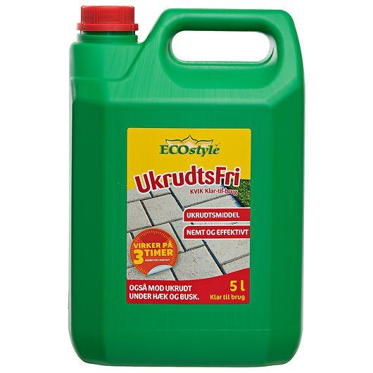 ECOstyle UkrudtsFri - Klar til brug 5 L