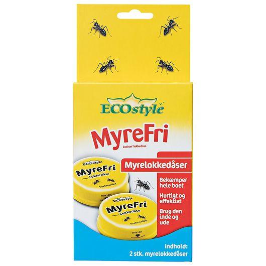 ECOstyle MyreFri - Myrelokkedåse metal 2-pak
