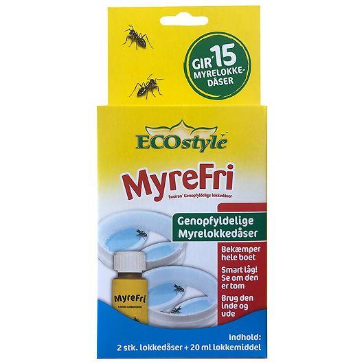 ECOstyle MyreFri -Myrelokkedåse til genopfyld 2-pk