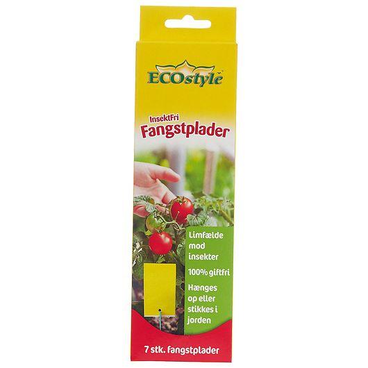 ECOstyle InsektFri - Fangstplader 7-pak