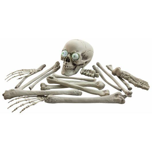Halloween - Kranie og knogler 18 dele
