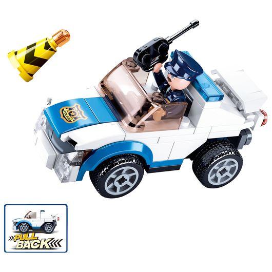 Sluban - Police Car 90 dele