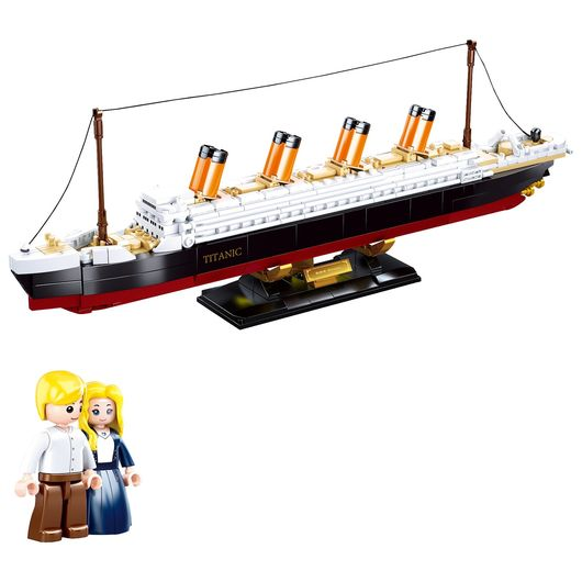 Sluban - Modelbricks - Titanic 1:700 481 dele
